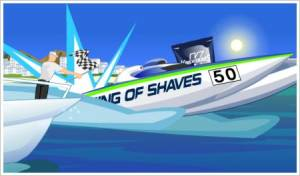 King of Shave's « King Of Power »