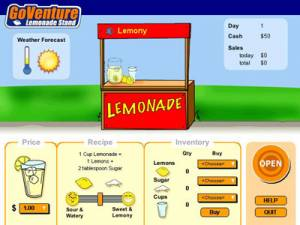 GoVenture Lemonade Stand