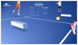 Lacoste Web Tennis Challenge