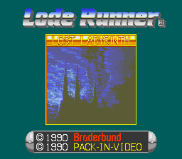 Lode Runner: Lost Labyrinth