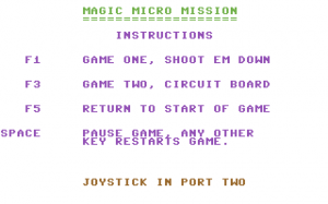 Magic Micro Mission
