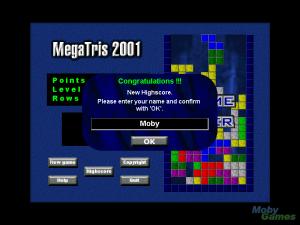 MegaTris 2001