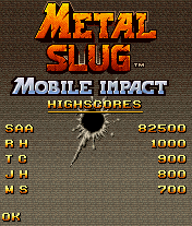 Metal Slug: Mobile Impact