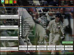Michael Vaughan\'s Championship Cricket Manager
