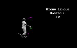 MicroLeague Baseball IV