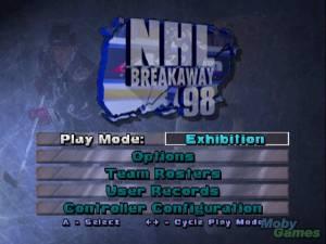 NHL Breakaway \'98