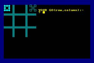 Noughts and crosses (Amstrad Disk 50)