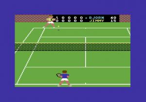 On-Court Tennis