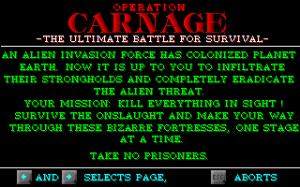 Operation: Carnage