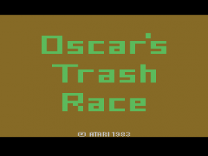 Oscar\'s Trash Race