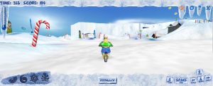Stunt Bike Arctic