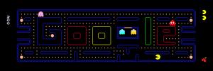 Google Doodle PacMan