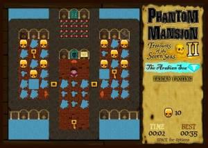 Phantom Mansion II: Treasures of the Seven Seas - The Arabian Sea
