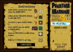 Phantom Mansion II: Treasures of the Seven Seas - The North Sea