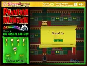 Phantom Mansion: Spectrum of Souls - Chapter 4: The Green Gallery