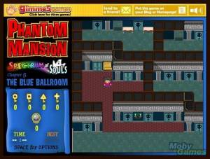 Phantom Mansion: Spectrum of Souls - Chapter 5: The Blue Ballroom