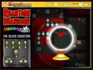 Phantom Mansion: Spectrum of Souls - Chapter 8: The Black Sanctum