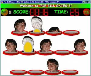 Pie Bill Gates