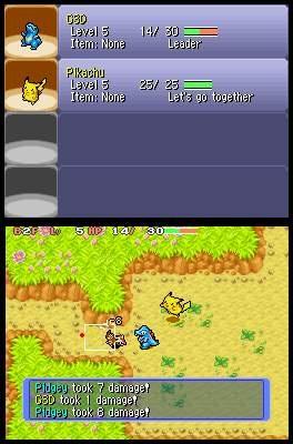 Pokémon Mystery Dungeon: Blue Rescue Team / Pokémon Mystery Dungeon: Red Rescue Team