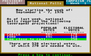 President Elect: 1988 Edition