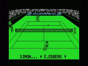 Professional Tennis Simulator