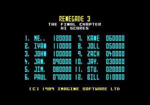 Renegade III: The Final Chapter