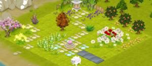 Roxy parfums: mon jardin virtuel