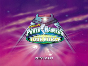 Saban's Power Rangers: Time Force