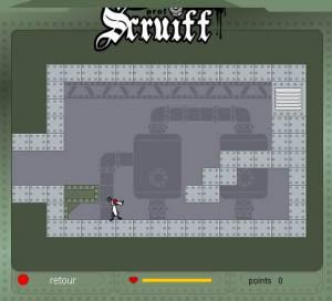 Le laboratoire du professeur Scruiff