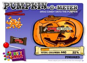 Pumpkin-O-Meter / Halloween Candy Game