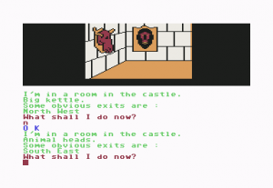 Scott Adams' Graphic Adventure #4: Voodoo Castle