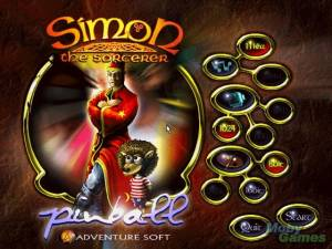 Simon the Sorcerer\'s Pinball