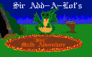 "Sir AddaLot\'s ""Mini"" Math Adventure"