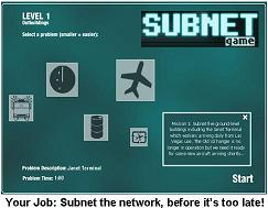Subnet Game