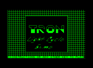 TRON: Light Cycle Game