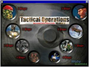 Tactical Operations II: Beyond Destruction