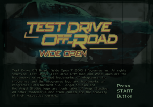 Test Drive: Off-Road: Wide Open
