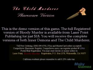 The Child Murderer