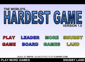 The World\'s Hardest Game