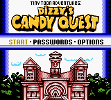 Tiny Toon Adventures: Dizzy\'s Candy Quest