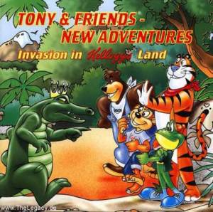 Tony & Friends: New Adventures - Invasion in Kellogg's Land