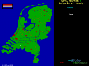 Topografie Nederland