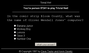 Trivial Net