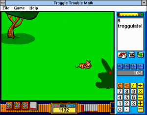 Troggle Trouble Math