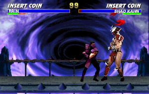 ultimate mortal kombat 3 is a fighting game in the mortal kombat