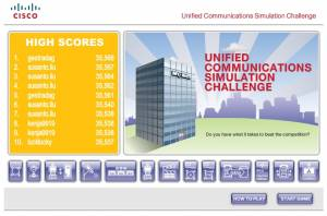 Unified Communications Simulation Challenge