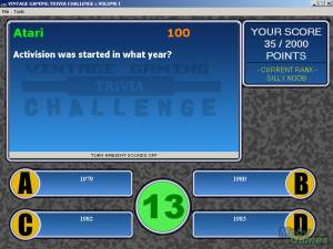 Vintage Gaming Trivia Challenge