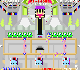 Wily Tower / Atomic boy