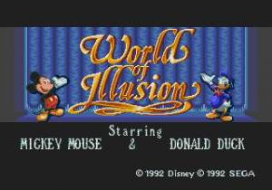 World of Illusion / Starring Mickey Mouse and Donald Duck