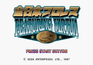 Zen-Nihon Pro Wrestling Featuring Virtua